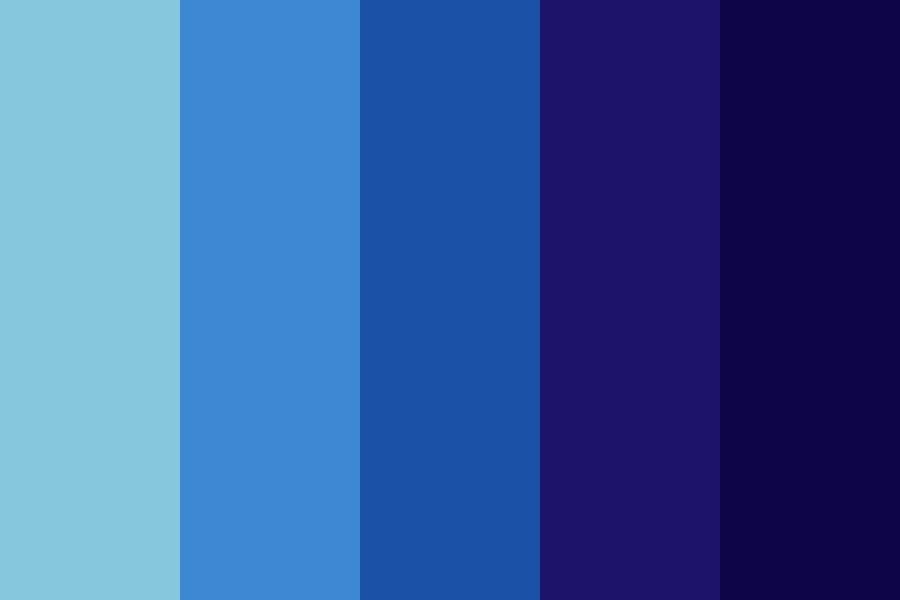 Blue Hour Color Palette