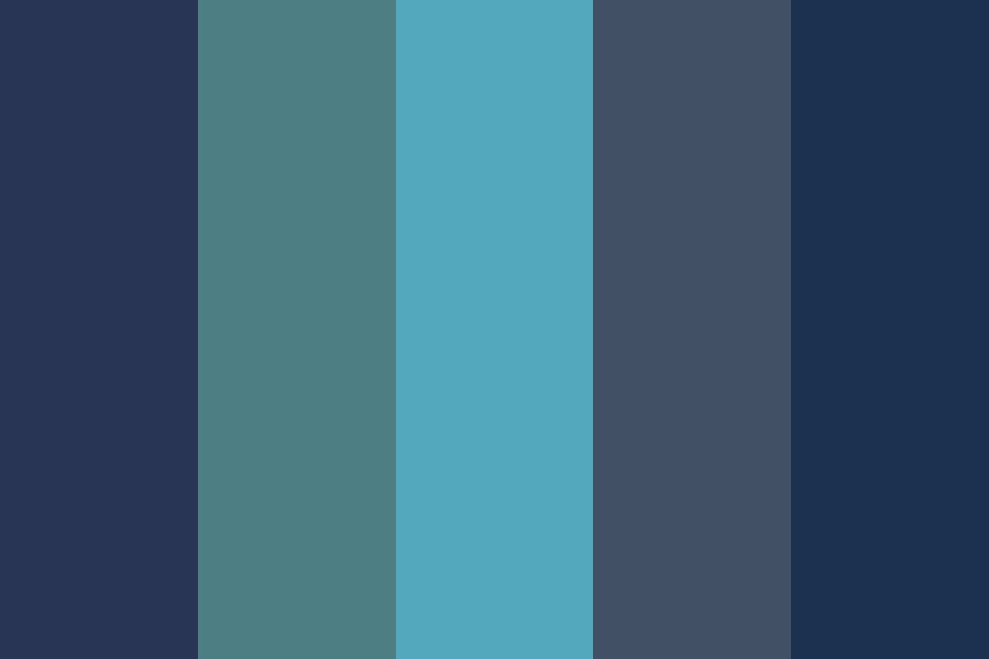 Blue Is Blue Color Palette