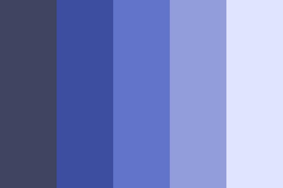 Blue K Color Palette