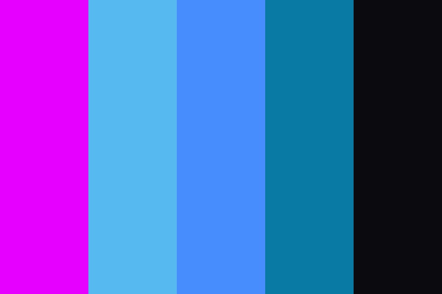 Blue Lagoon Color Palette