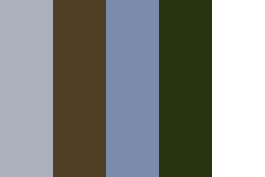 Blue Land Color Palette