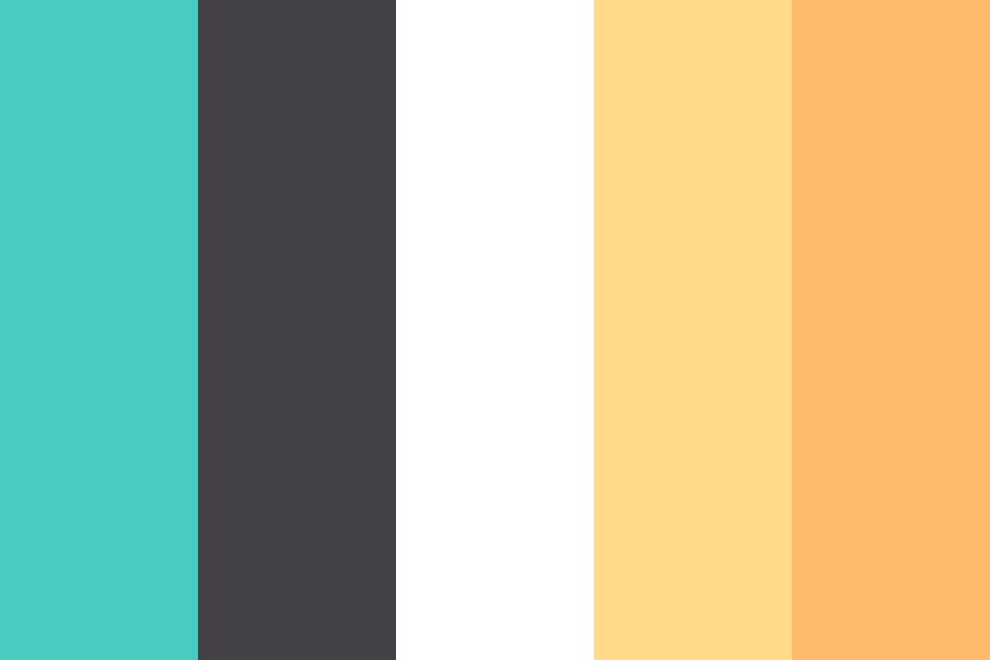 Blue Lemonade Color Palette