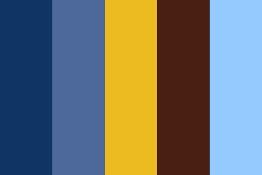 Blue Mage Color Palette