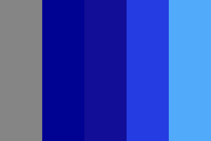 Blue Magic Color Palette