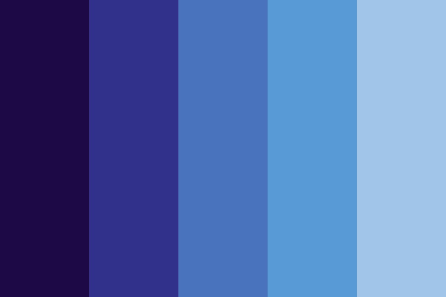 Blue Mb Color Palette