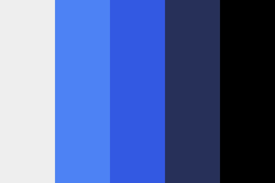 Blue Morpho Color Palette