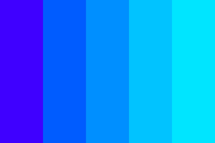Blue Nation Color Palette