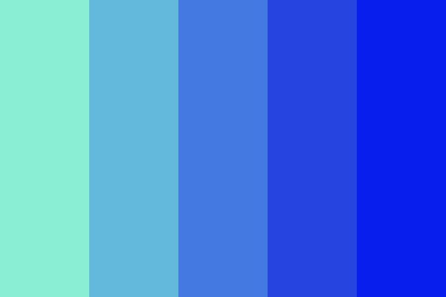 Blue Ocean Color Palette