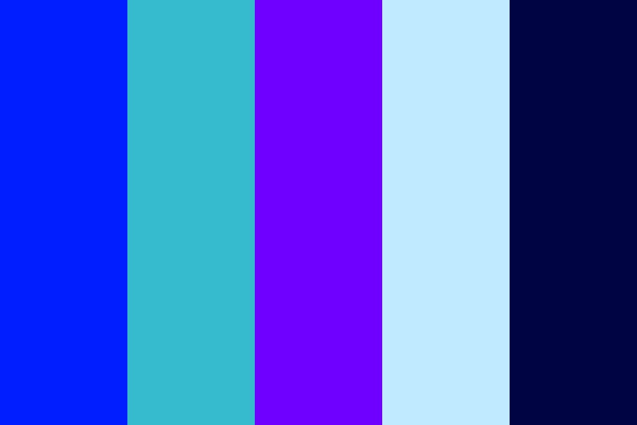 Blue Orchid Color Palette