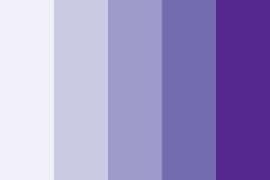 Blue Ray Color Palette