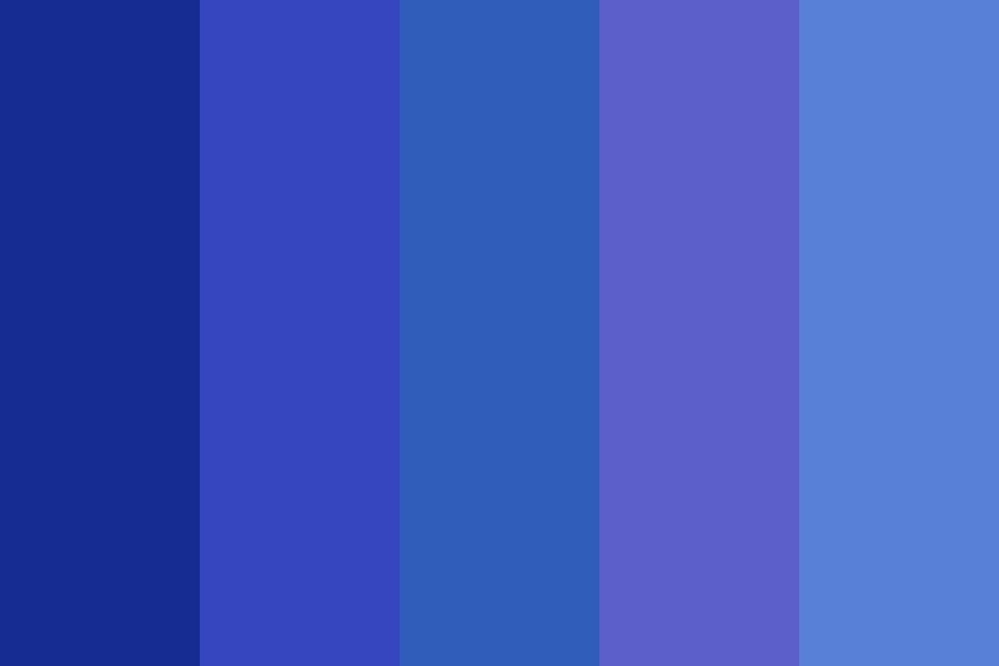Blue Raying Autostop Color Palette
