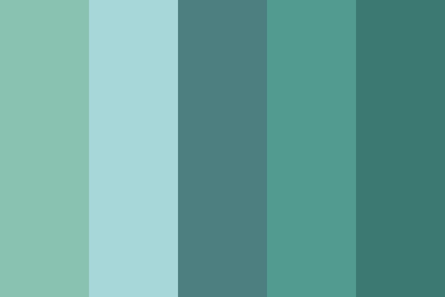 Blue River Color Palette