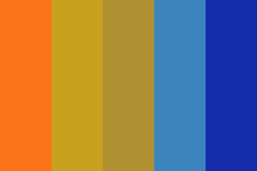 Blue Ruin Color Palette