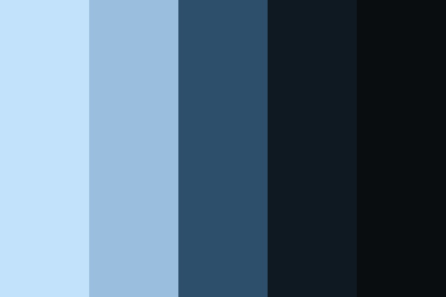 Blue Safe And Smart Color Palette