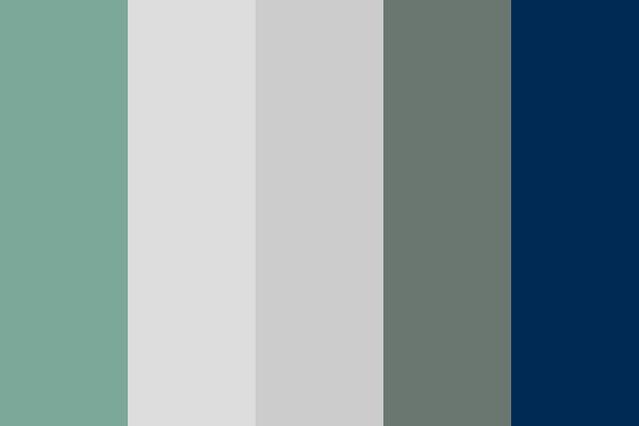 Blue Sage Color Palette