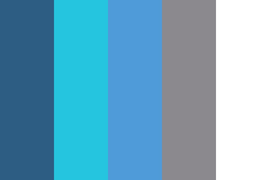 Blue Sky Color Palette