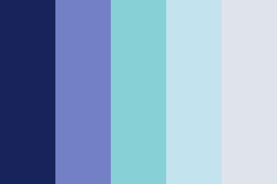 Blue The Pinup Color Palette