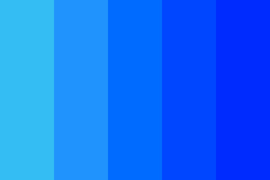 Blue To Deep Color Palette