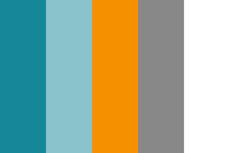 Blue To Orange Color Palette