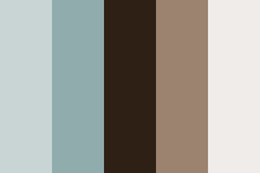 Blue Winter Color Palette