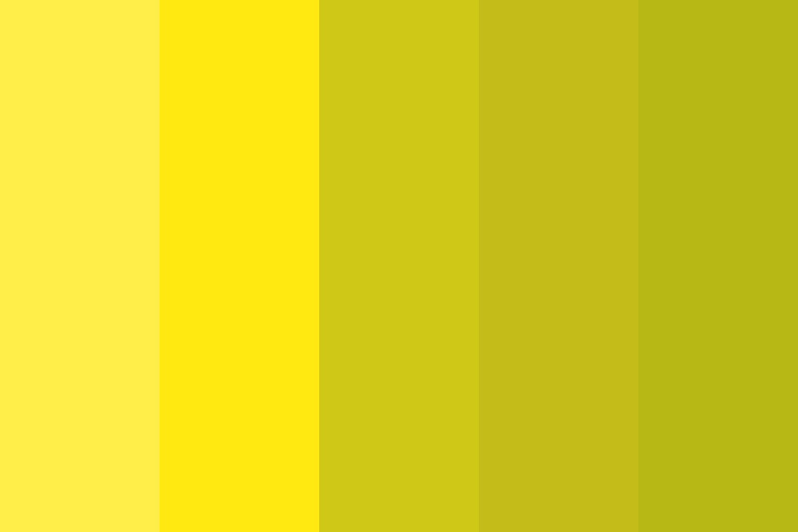 Blue Yeety Yellows Color Palette