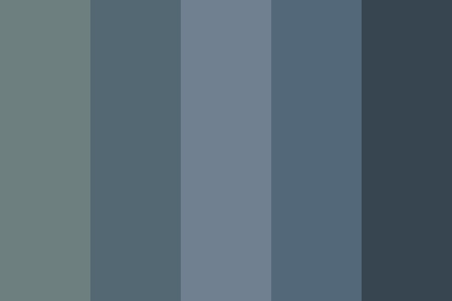 Blue grey Color Palette