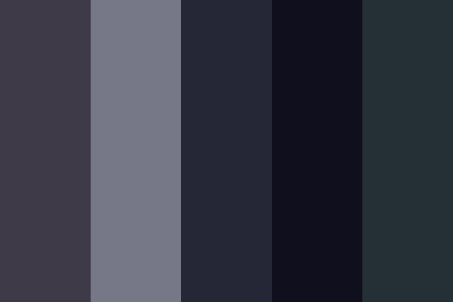 Blue grey Wolf Color Palette
