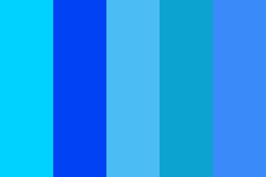 Blue ty Color Palette