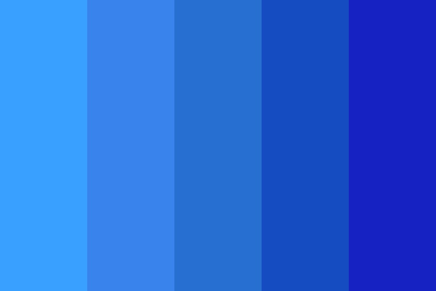 Blueberry Bath Color Palette