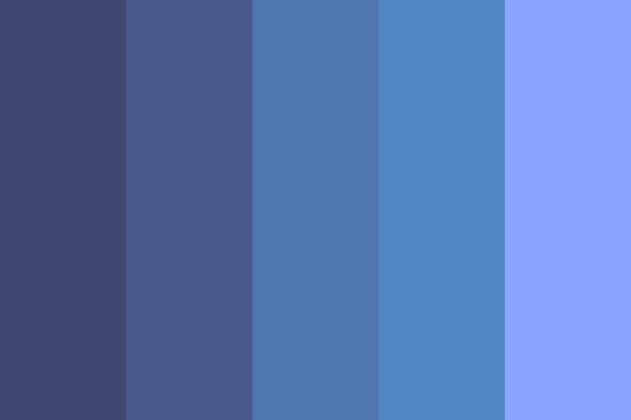 Blueberry Cake Color Palette