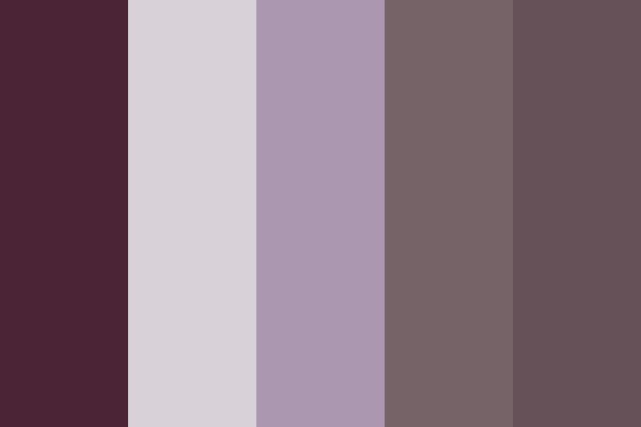 Blueberry Chocolate Color Palette
