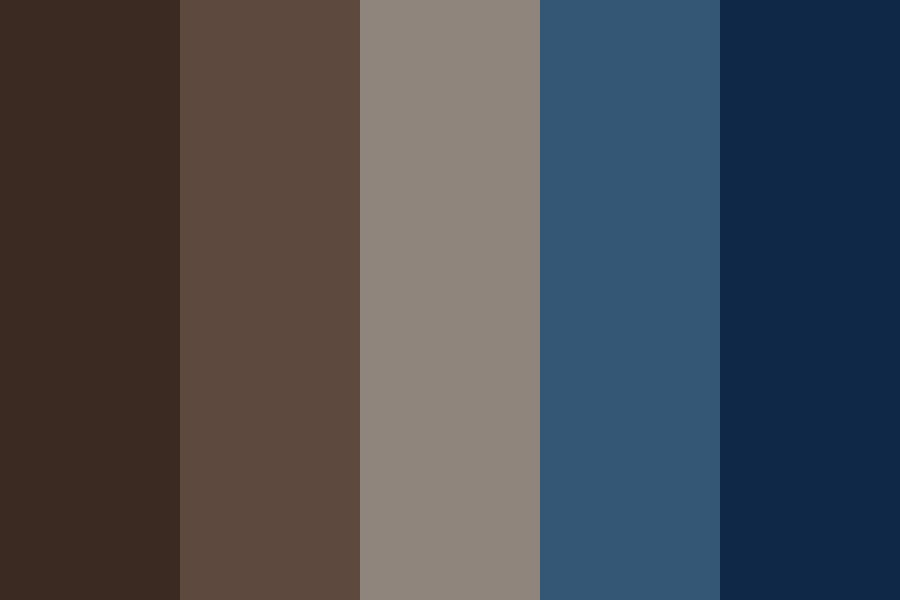 Blueberry Coffee Color Palette