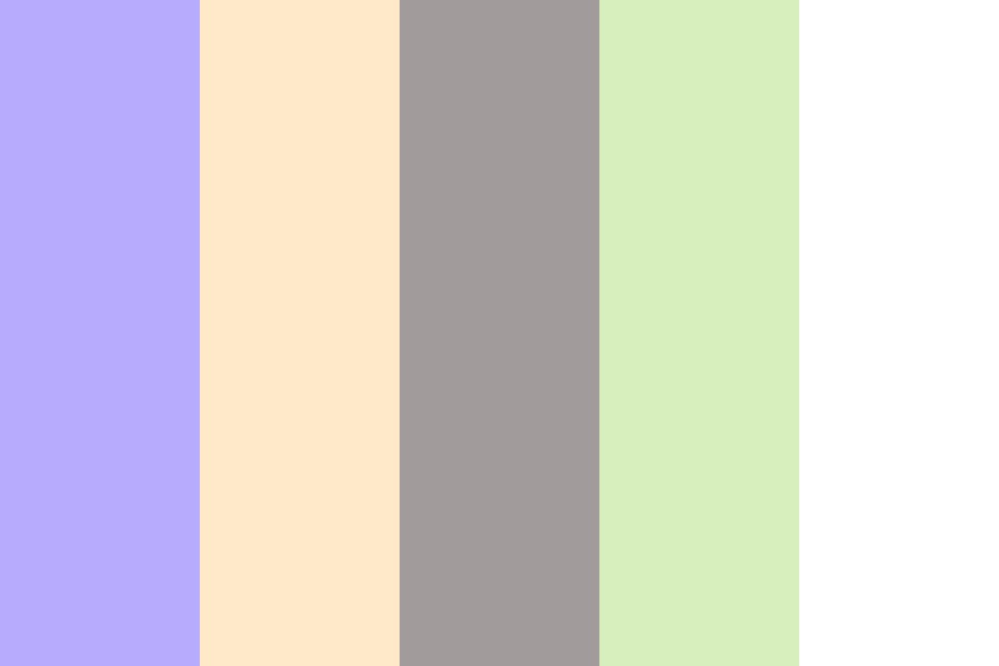 Blueberry Daydream Color Palette