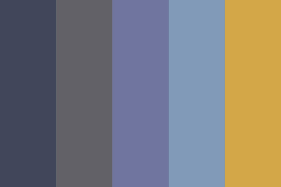 Blueberry Hue Color Palette