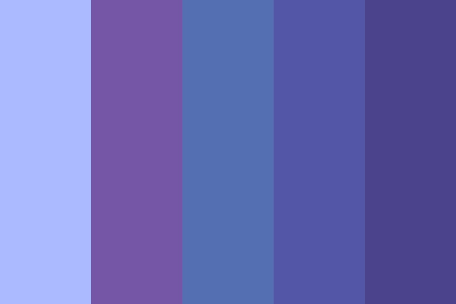 Blueberry Icecream Color Palette