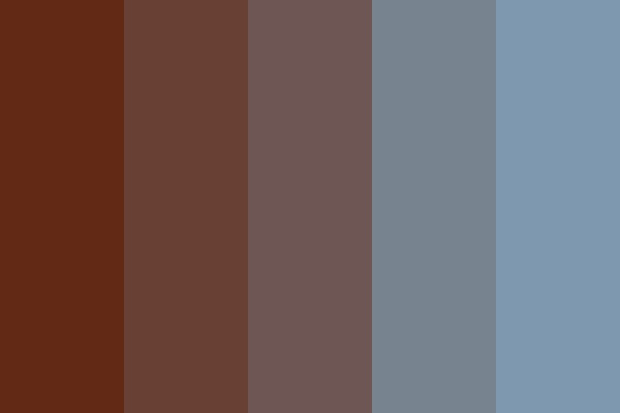 Blueberry Pie Day Color Palette