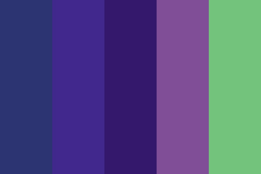 Blueberry Soda Color Palette