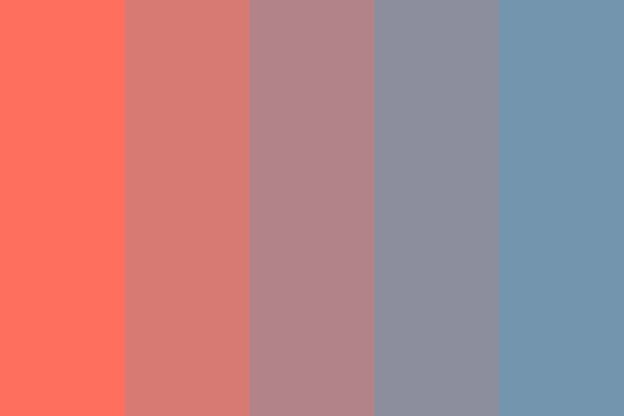 Blueberry Star Color Palette
