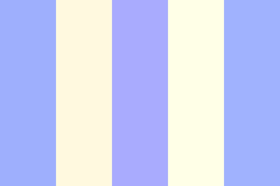 Blueberry Swirl Color Palette