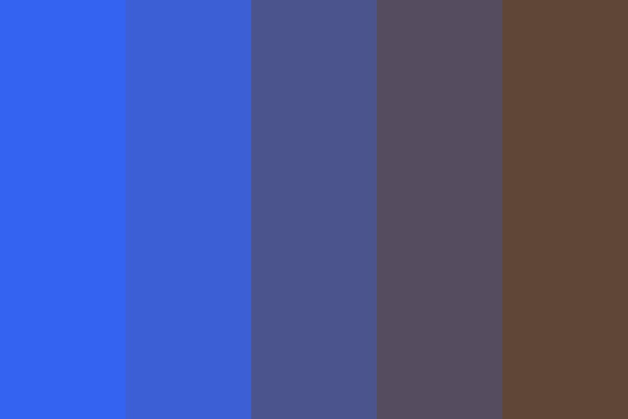 Blueberry Syrup Color Palette