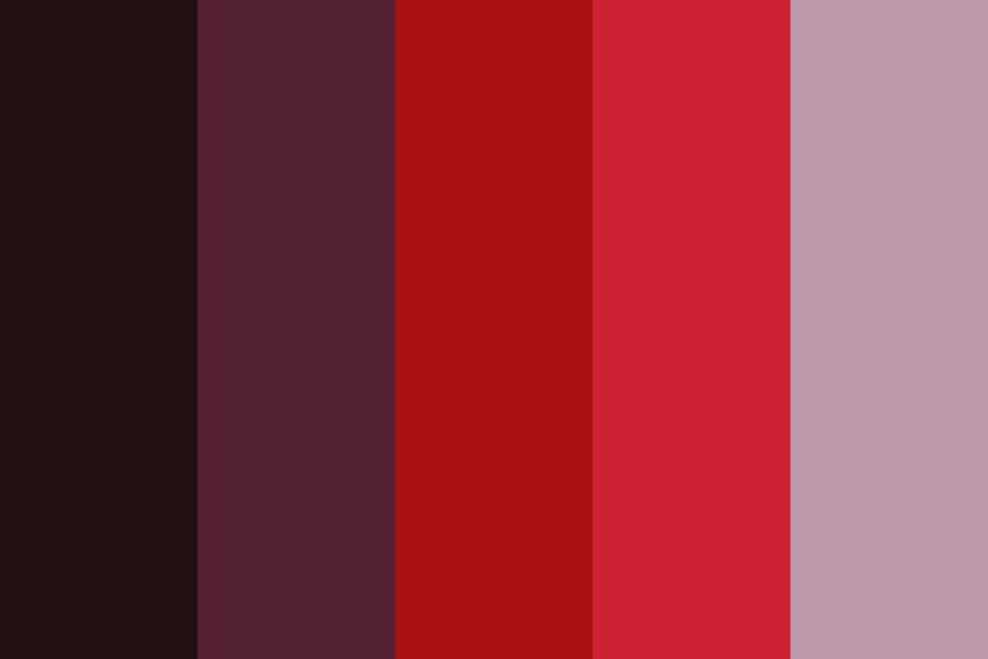 Bluecherry Color Palette