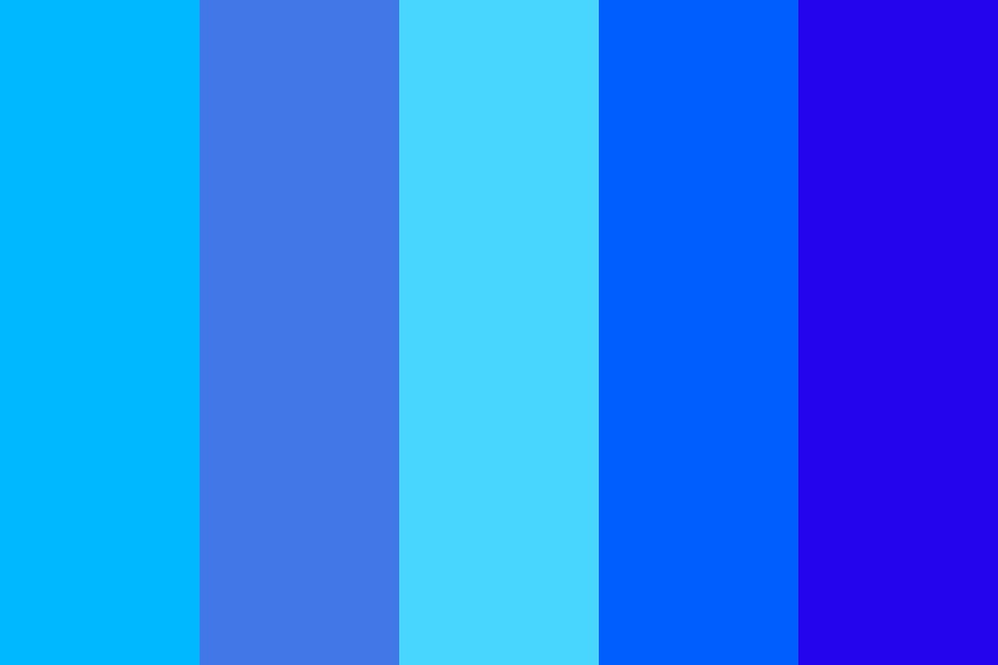 Blueee Color Palette