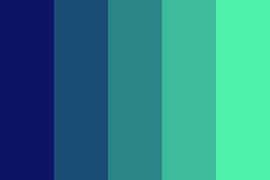 Blueen Color Palette