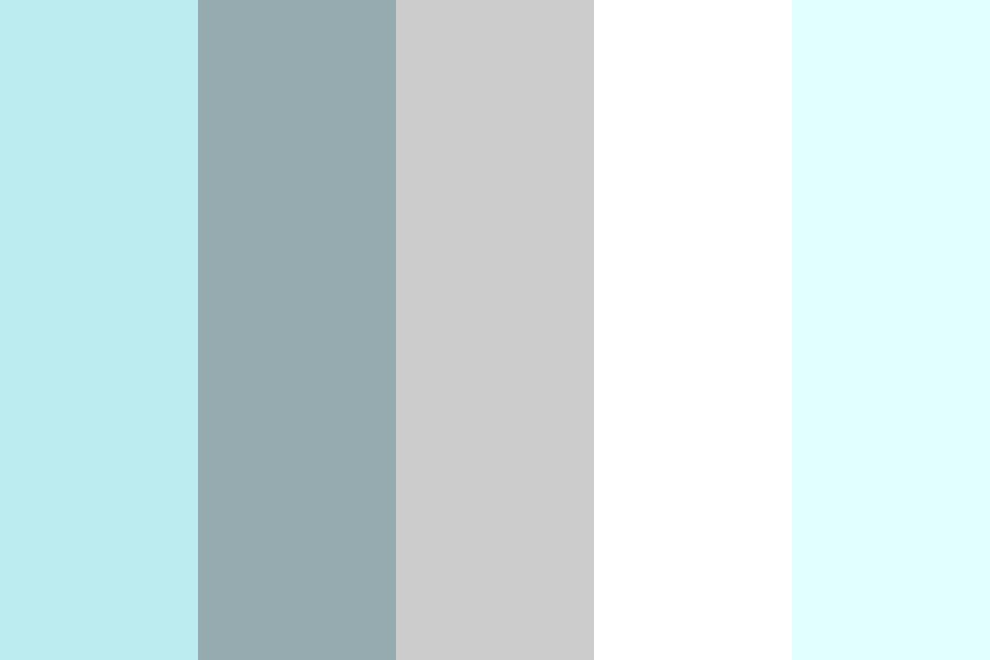 Bluegrey Color Palette