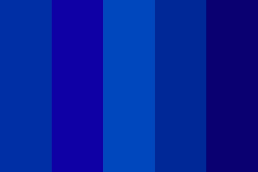Blueium Color Palette