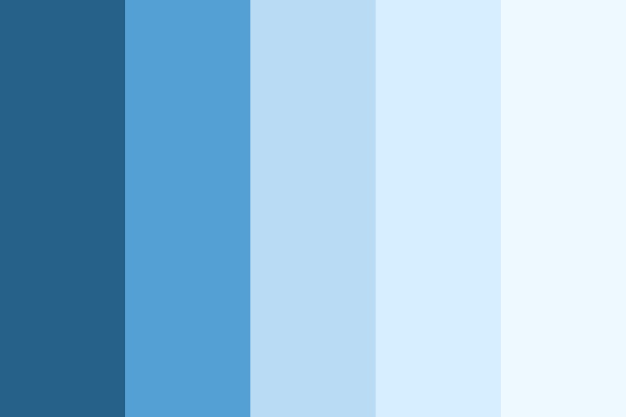 Bluelight Color Palette