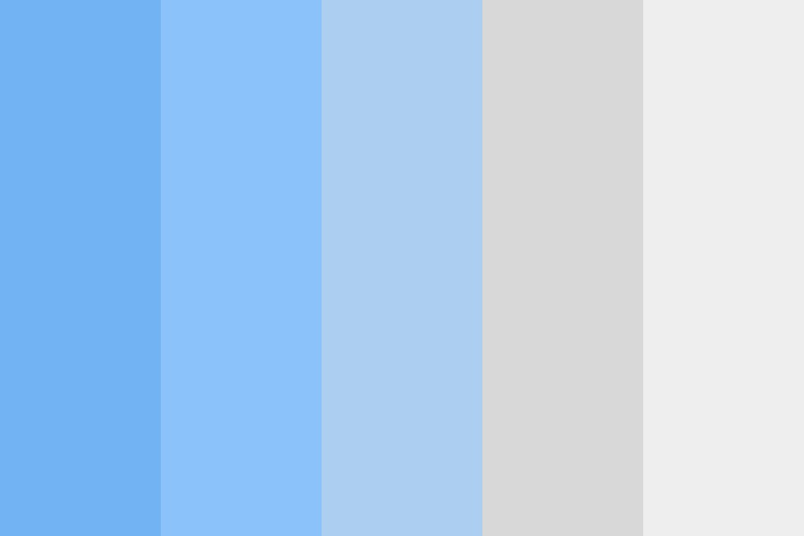 Blues And Grays Color Palette