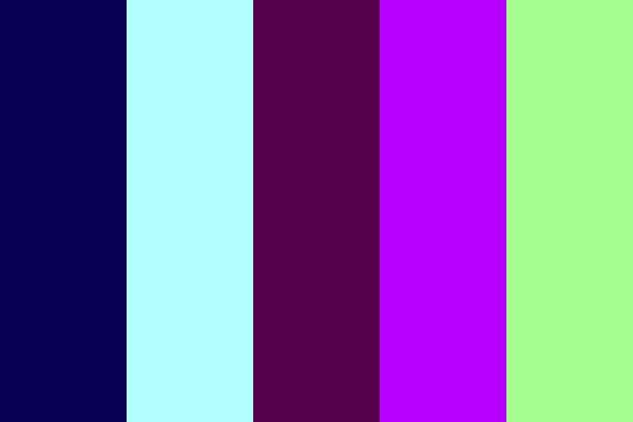 Blues And Purples Color Palette