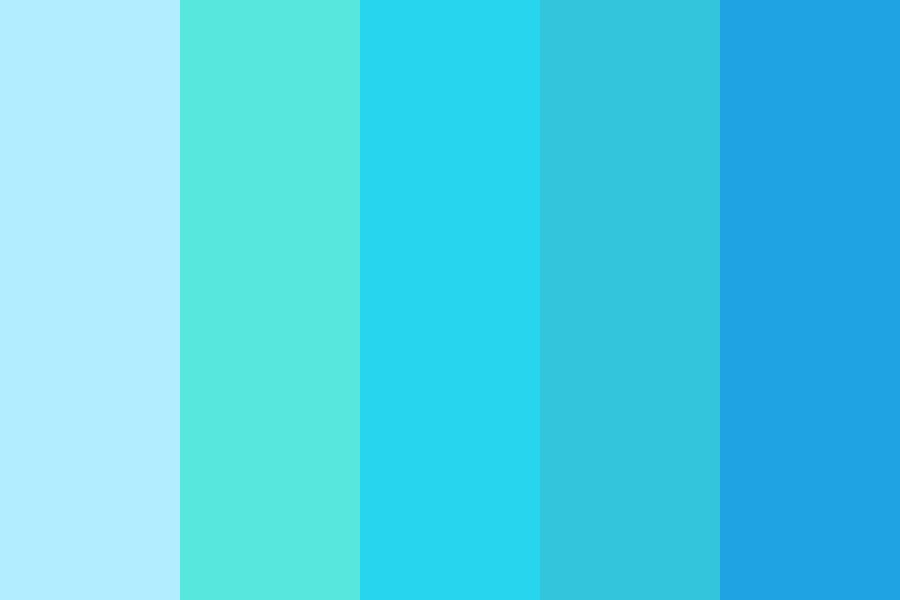 Blues Are My Life Color Palette