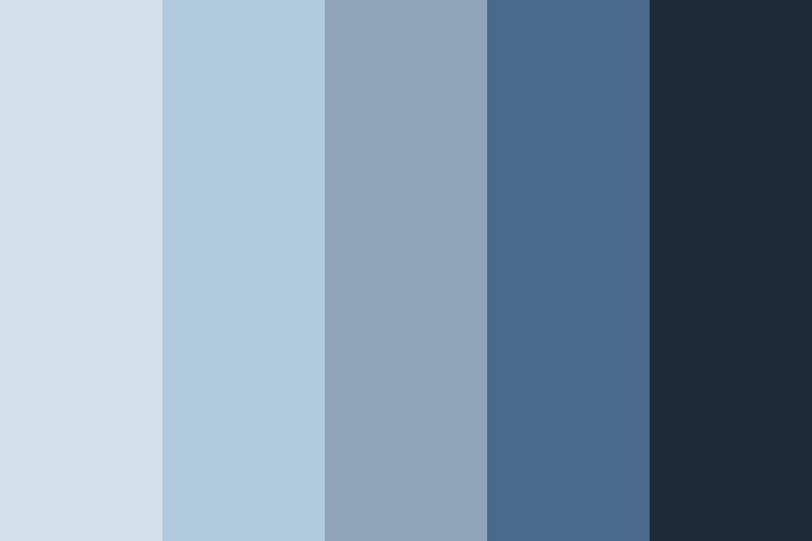 Blues Brothers Color Palette
